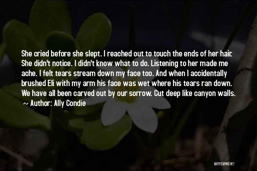 Cut Her Hair Quotes By Ally Condie