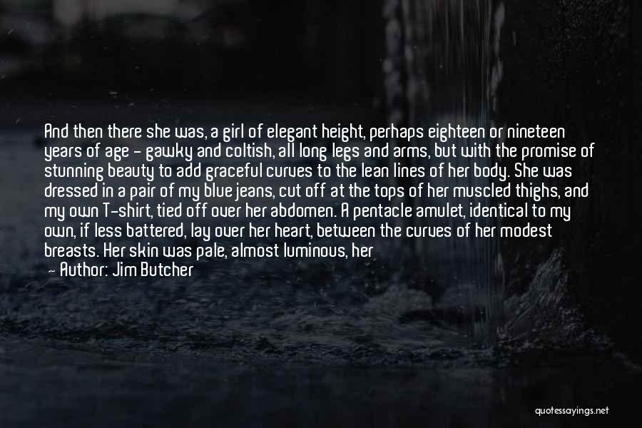 Cut Her Hair Quotes By Jim Butcher