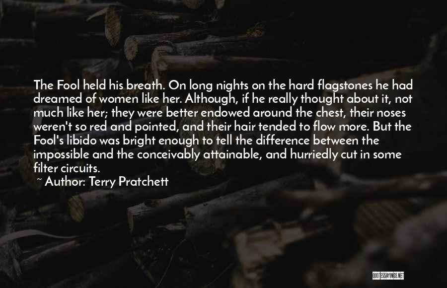 Cut Her Hair Quotes By Terry Pratchett