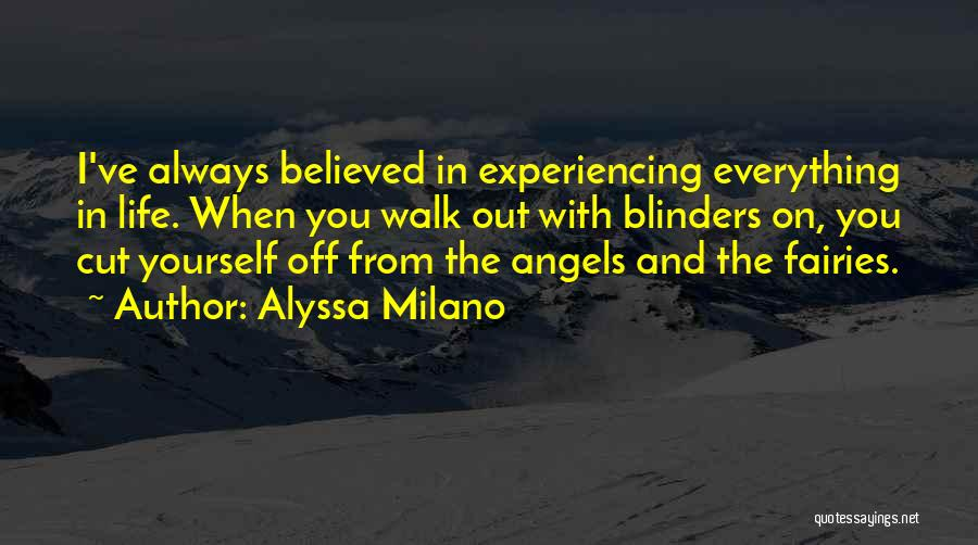 Cut Out Quotes By Alyssa Milano