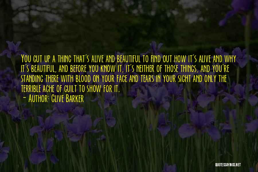 Cut Out Quotes By Clive Barker