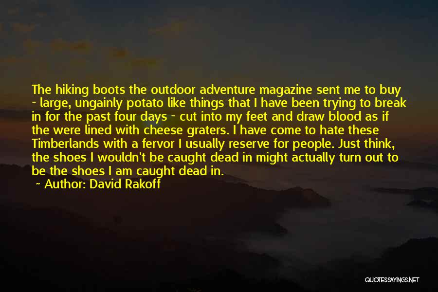 Cut Out Quotes By David Rakoff