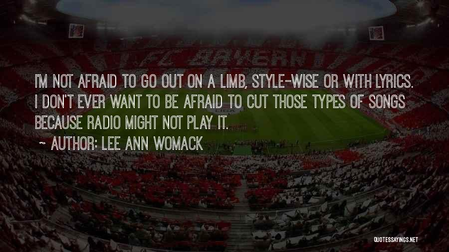 Cut Out Quotes By Lee Ann Womack