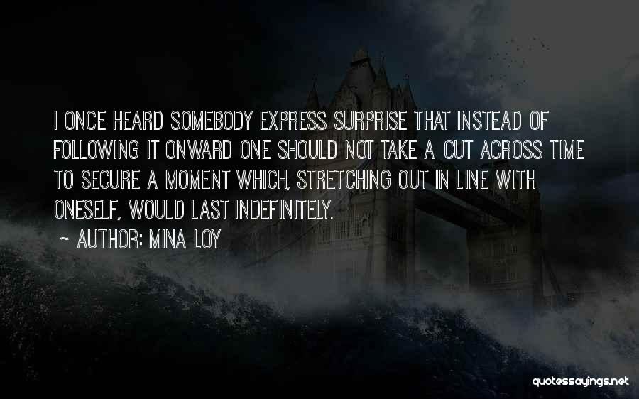 Cut Out Quotes By Mina Loy