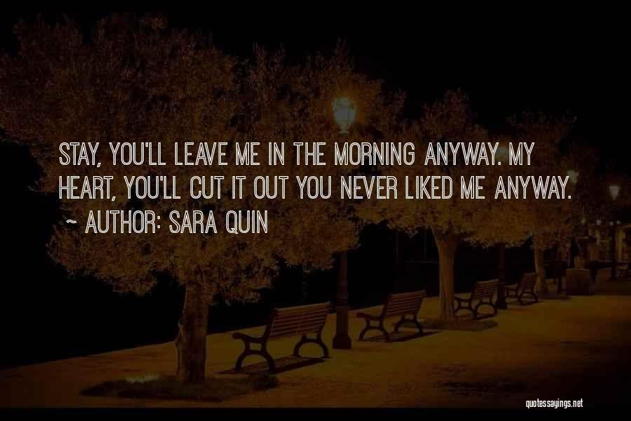Cut Out Quotes By Sara Quin