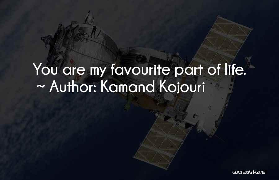 Cute Girlfriend And Boyfriend Quotes By Kamand Kojouri