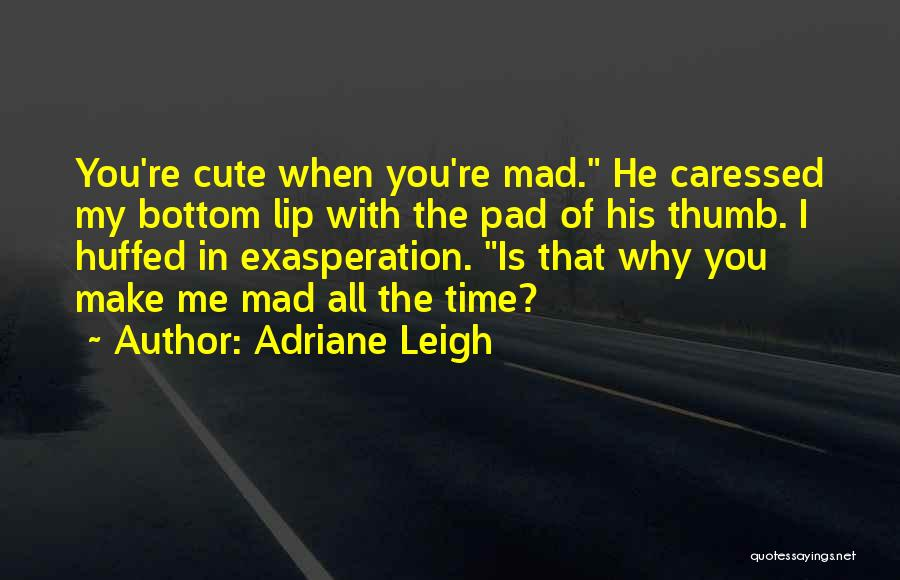 Cute Lip Quotes By Adriane Leigh