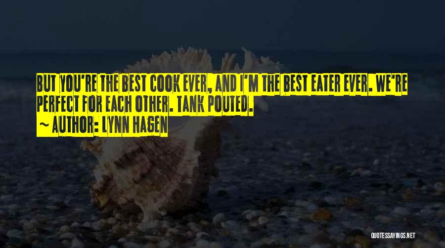 Cute Not Perfect Quotes By Lynn Hagen