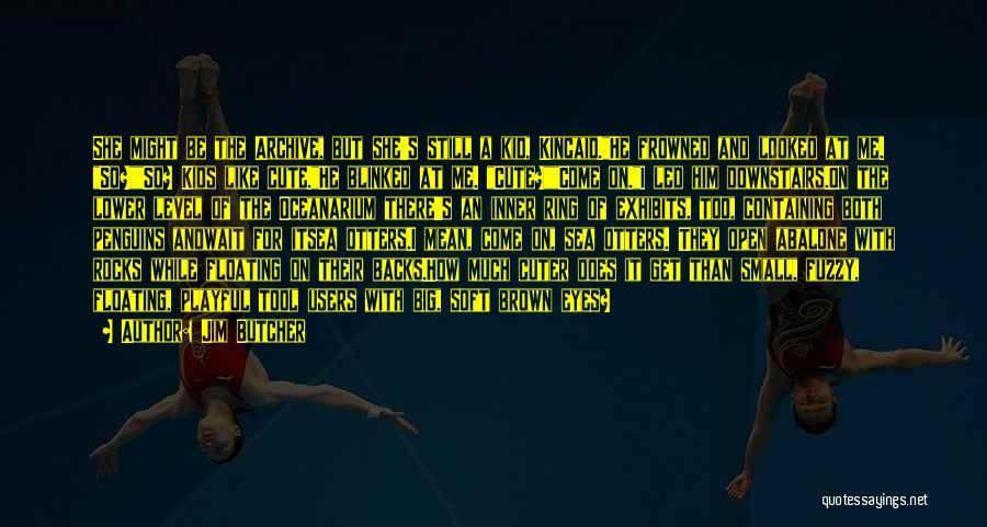 Cute Penguins Quotes By Jim Butcher
