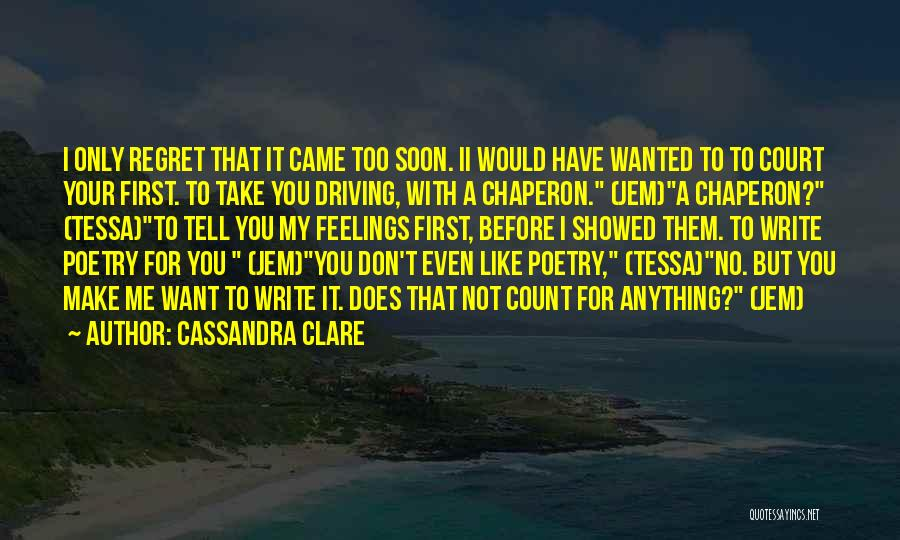 Cute Things Guys Do Quotes By Cassandra Clare