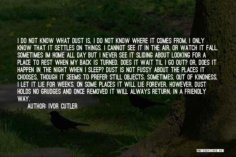 Cutler Quotes By Ivor Cutler