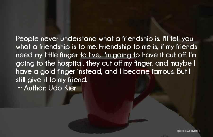 Top 38 Quotes & Sayings About Cutting Off Friends