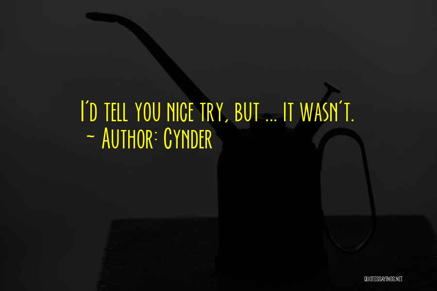 Cynder Quotes 1032018