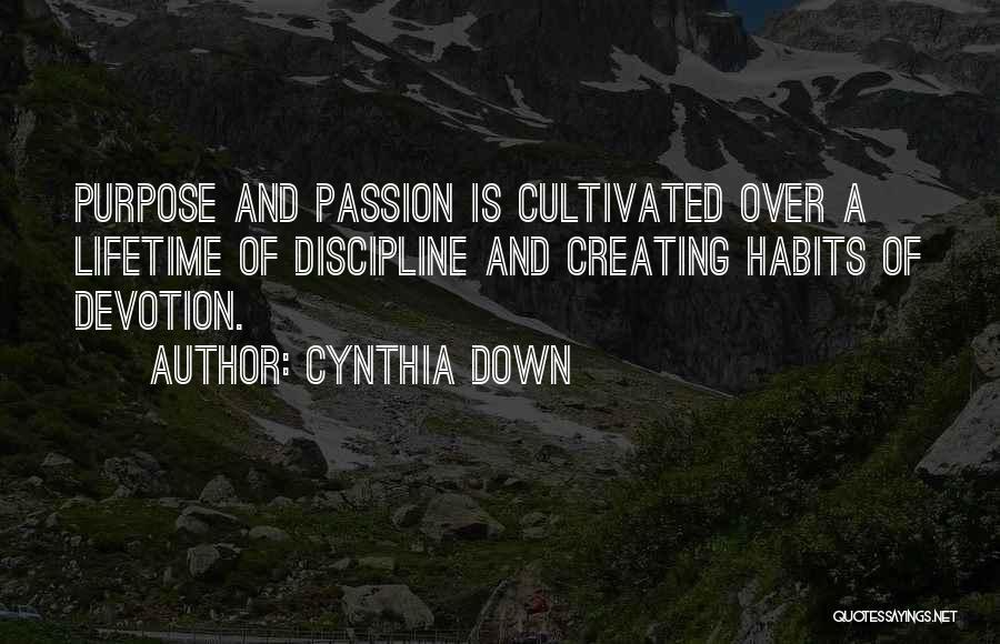 Cynthia Down Quotes 1903225