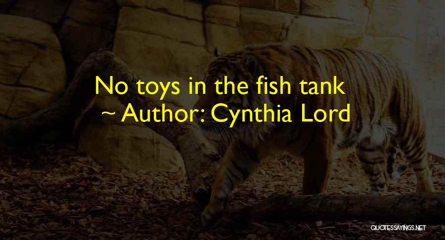 Cynthia Lord Quotes 1009191