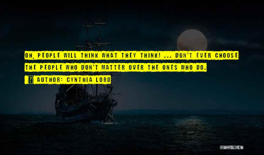 Cynthia Lord Quotes 1677243