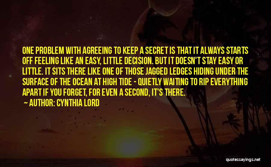 Cynthia Lord Quotes 766311