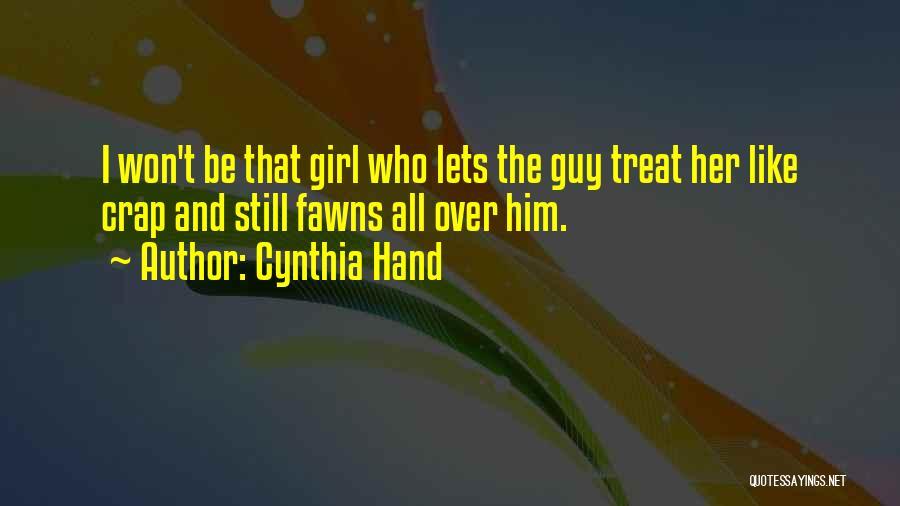 Cynthia Quotes By Cynthia Hand
