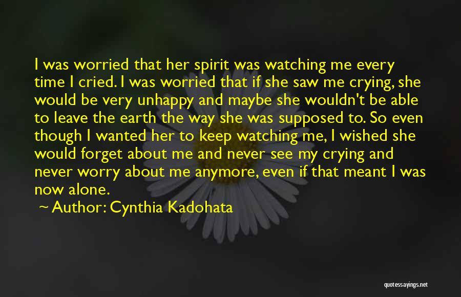 Cynthia Quotes By Cynthia Kadohata