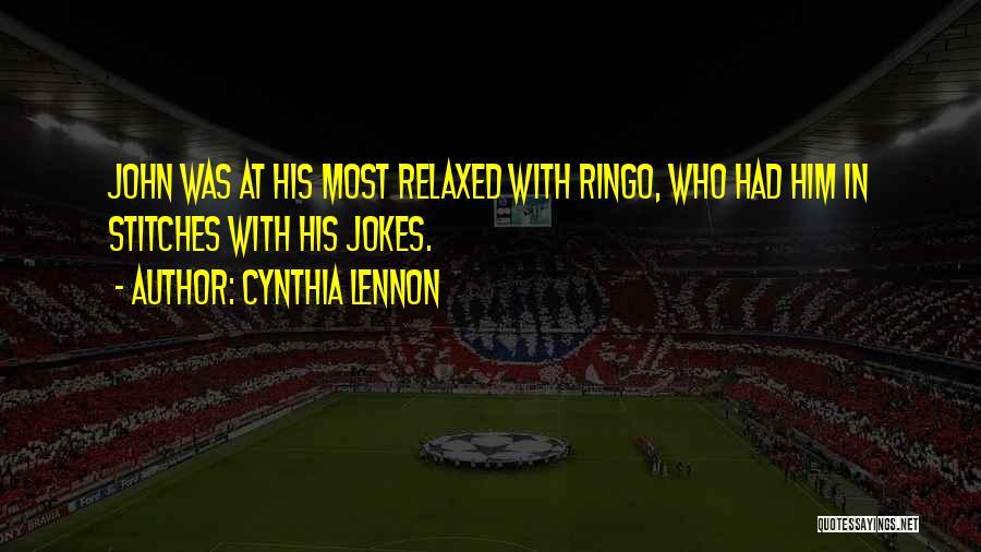Cynthia Quotes By Cynthia Lennon