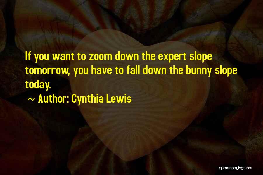 Cynthia Quotes By Cynthia Lewis