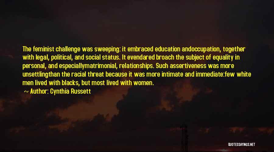 Cynthia Russett Quotes 605100