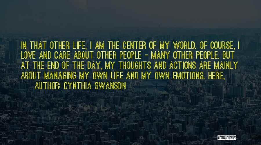 Cynthia Swanson Quotes 285233