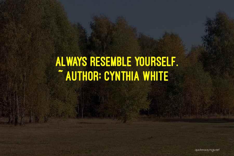 Cynthia White Quotes 2002201