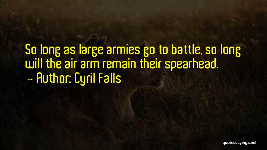 Cyril Quotes By Cyril Falls