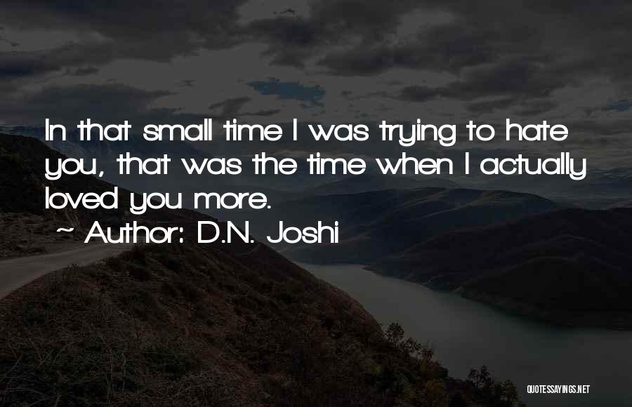 D.N. Joshi Quotes 1401205