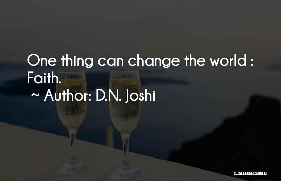 D.N. Joshi Quotes 850415