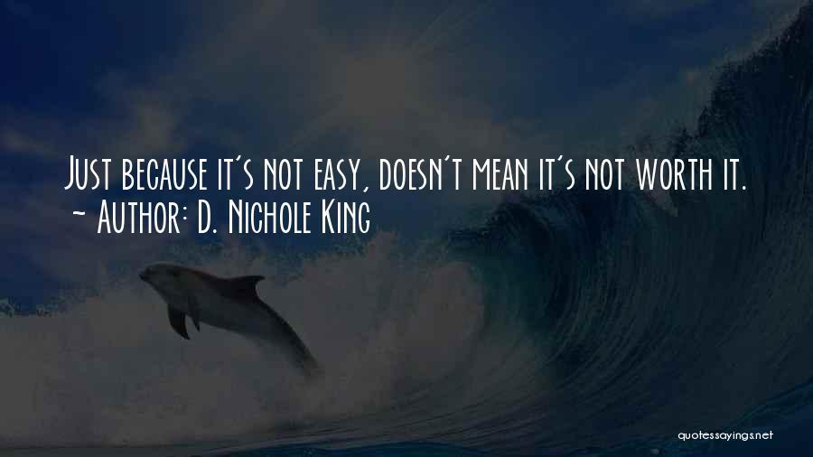 D. Nichole King Quotes 1212895