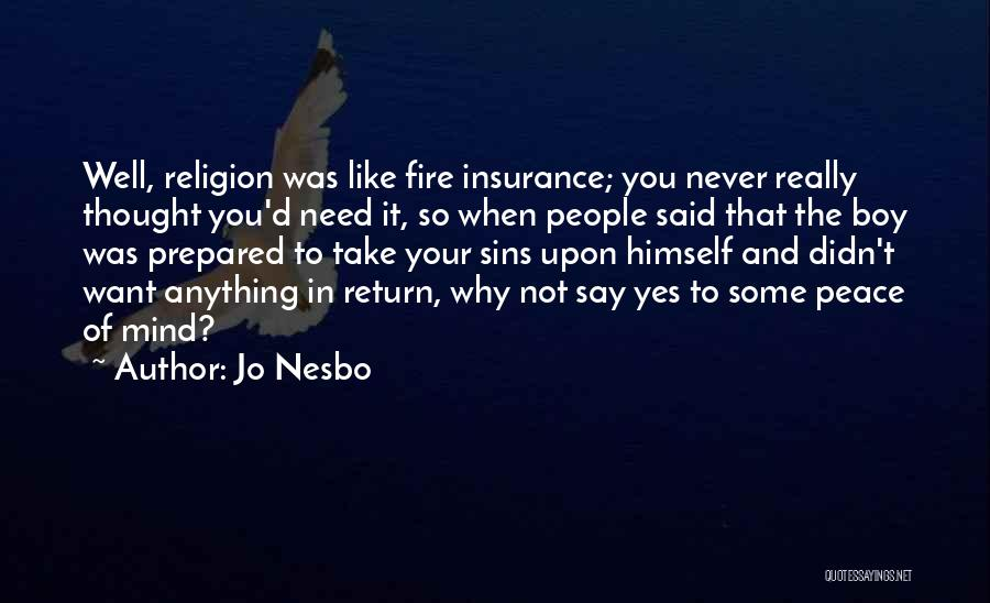 D&o Insurance Quotes By Jo Nesbo