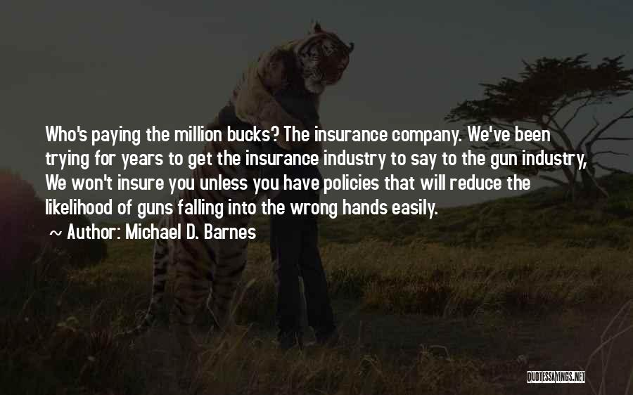 D&o Insurance Quotes By Michael D. Barnes