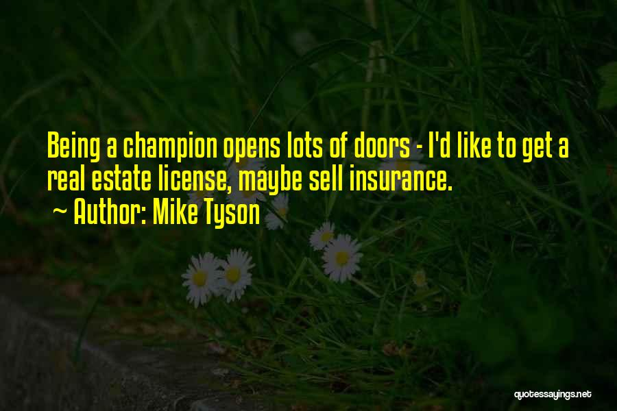 D&o Insurance Quotes By Mike Tyson