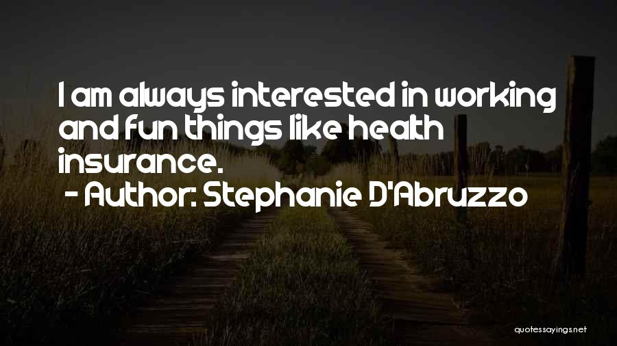 D&o Insurance Quotes By Stephanie D'Abruzzo