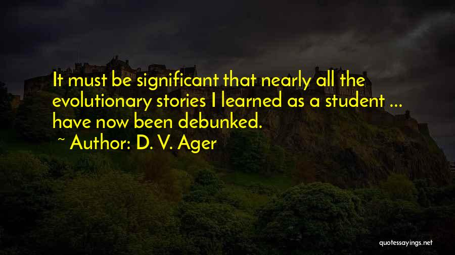 D. V. Ager Quotes 1424374