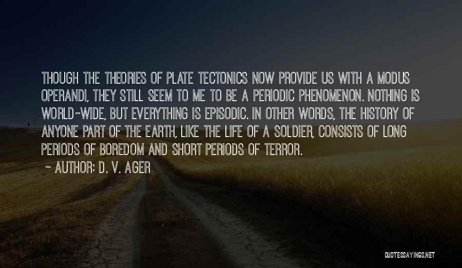 D. V. Ager Quotes 1868861