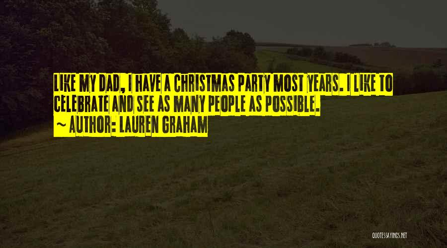 Dad And Christmas Quotes By Lauren Graham