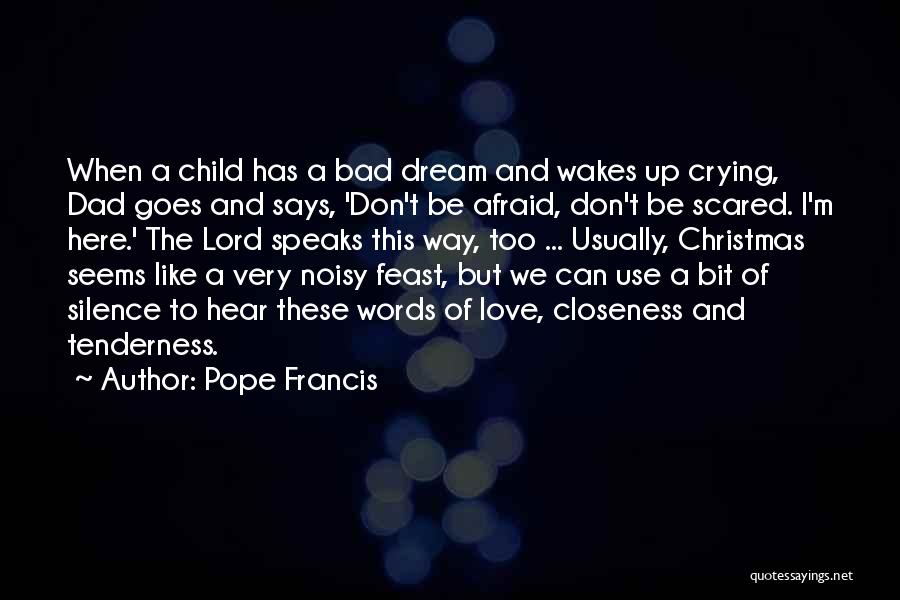 Dad And Christmas Quotes By Pope Francis