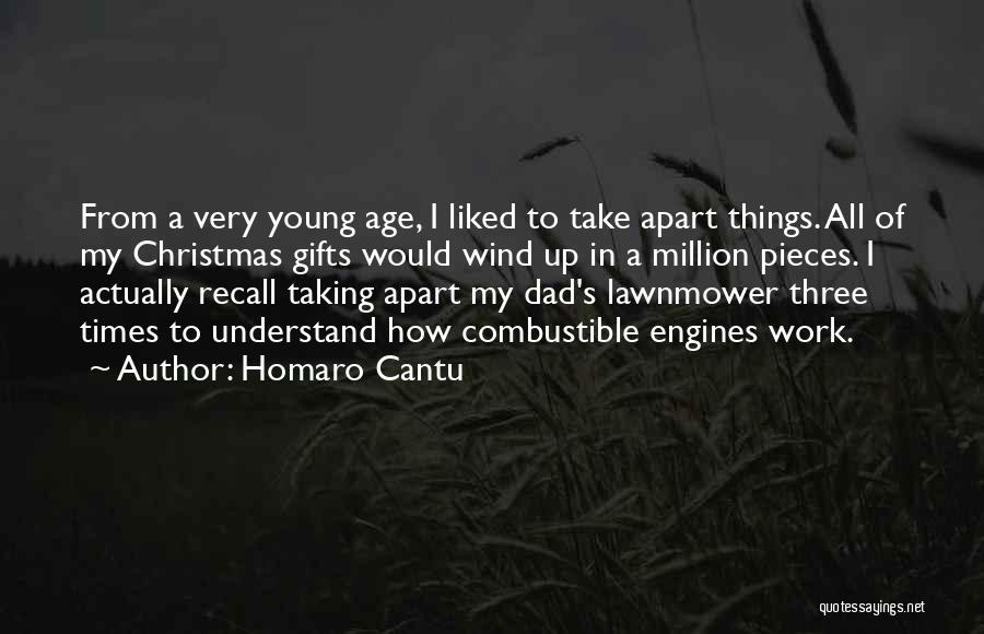Dad For Christmas Quotes By Homaro Cantu