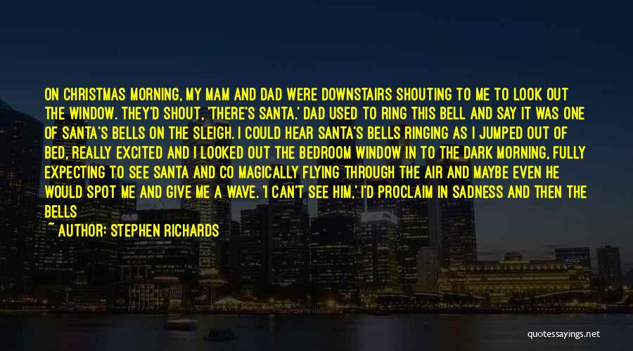 Dad For Christmas Quotes By Stephen Richards