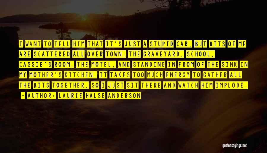 Dads From Daughters Quotes By Laurie Halse Anderson