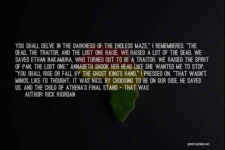 Daedalus Quotes By Rick Riordan
