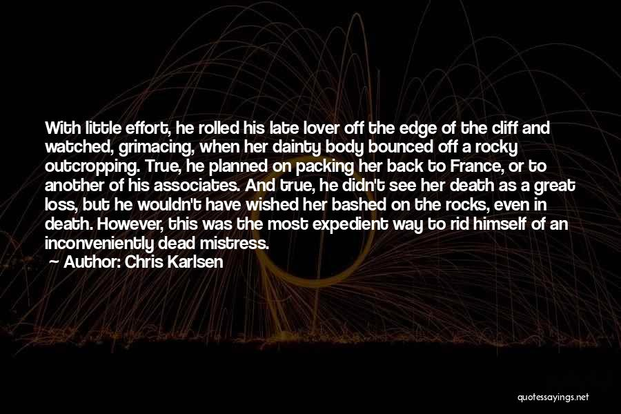 Dainty Quotes By Chris Karlsen