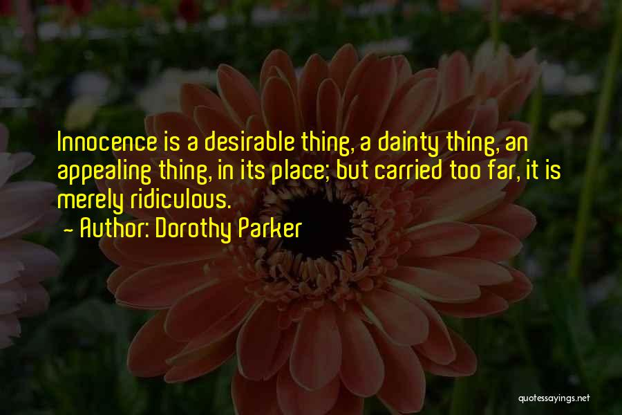 Dainty Quotes By Dorothy Parker