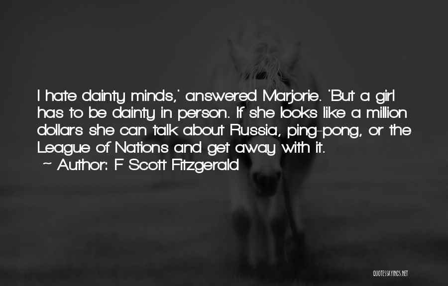 Dainty Quotes By F Scott Fitzgerald