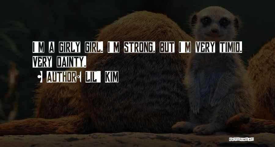 Dainty Quotes By Lil' Kim