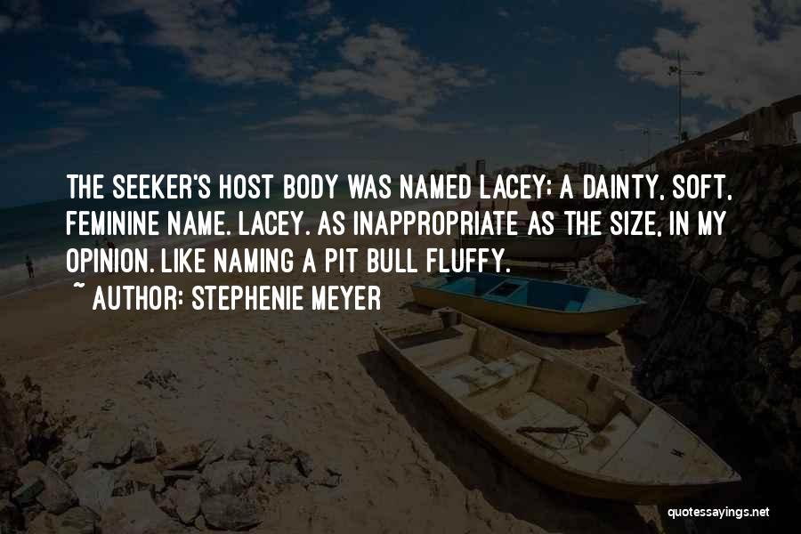 Dainty Quotes By Stephenie Meyer