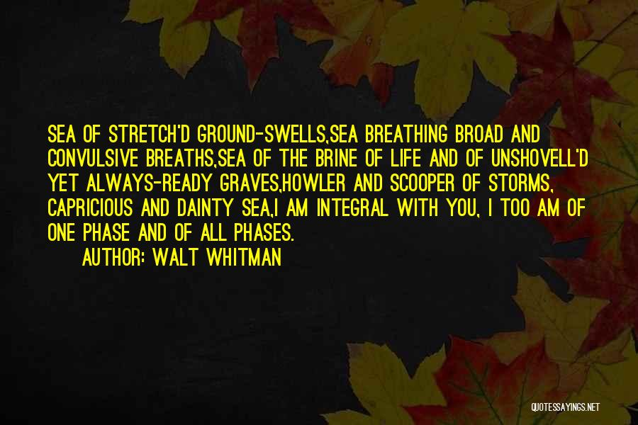 Dainty Quotes By Walt Whitman